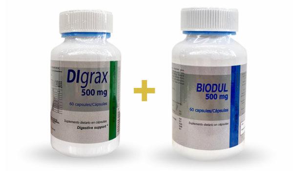 Baja de peso rápido con Biodul y Digrax